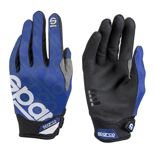 2017 Sparco Mechanic Gloves MECA-3 blue