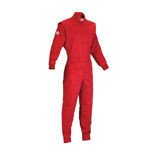 MY14 OMP SUMMER red Kids Karting Suit