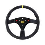 OMP ALU Suede Steering Wheel