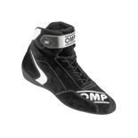 OMP FIRST-S Black Racing Shoes (FIA)