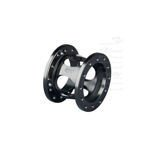 OMP Fixed 60mm Steering Wheel Spacer anodized aluminium - black