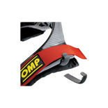 OMP Hans device harness clips (pair) Rubber Anti-Slip