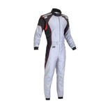 OMP KS-3 grey Karting Suit (with CIK FIA homologation)