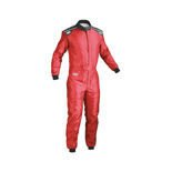 OMP KS-4 Kids red Karting Suit (with CIK FIA homologation)