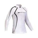 OMP ONE K white Long Sleeve Top