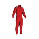 OMP SUMMER-K Kids red Karting Suit