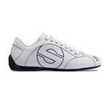 Sparco Esse Shoes Leather White
