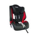 Sparco F1000K Black/Red Child Seat (9-36 kg) (19-79 lbs)