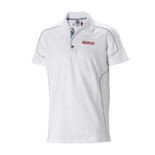 Sparco Mens white Polo Shirt