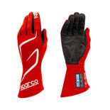 Sparco Race Gloves LAND RG-3.1 red (with FIA homologation)