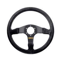 Sparco R375 Suede Steering Wheel