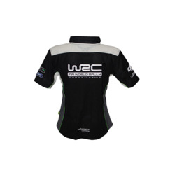 WRC Team Ladies Black Polo Shirt