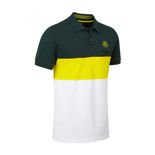 2017 Lotus Cars Men's Logo Striped Polo Shirt