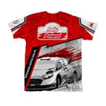 2019 Rally Poland ERC Ladies T-shirt red
