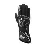 Alpinestars TECH 1-ZX black/silver Racing Gloves (FIA)