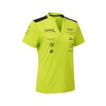 Aston Martin Racing 2018 Women's Team Polo Shirt Lime