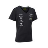 Aston Martin Racing 2018 Women's Team T-shirt Navy Blue