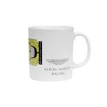 Aston Martin Racing Car Mug White