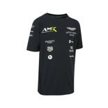 Aston Martin Racing Kids' Team T-Shirt Navy Blue