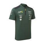 Aston Martin Racing Mens Team Polo Shirt Green