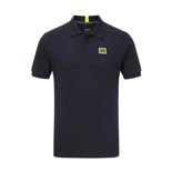 Aston Martin Racing Mens Travel Polo Shirt Navy Blue