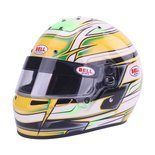 Bell KC7-CMR VENOM Full Face Helmet Yellow