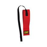 "OMP 2"" Red Tow Hook Strap (FIA)"