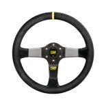 OMP 350 CARBON D Suede Steering Wheel
