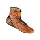 OMP CARRERA High brown Racing Shoes (with FIA homologation)