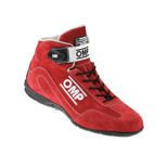 OMP CO-DRIVER Red Racing Shoes (FIA)