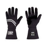 OMP DIJON black Racing Gloves (with FIA homologation)