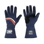 OMP DIJON navy blue Racing Gloves (with FIA homologation)