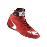 OMP FIRST-S Red Racing Shoes (FIA)