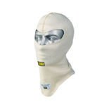 OMP FIRST White Open Balaclava size S (FIA)