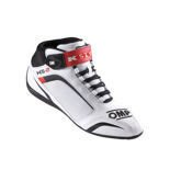 OMP KS-2 White Karting Shoes