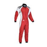 OMP KS-3 red Karting Suit (with CIK FIA homologation)