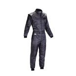 OMP KS-4 Kids black Karting Suit (with CIK FIA homologation)