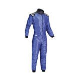 OMP KS-4 Kids blue Karting Suit (with CIK FIA homologation)