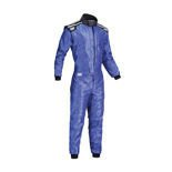 OMP KS-4 blue Karting Suit (with CIK FIA homologation)