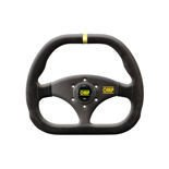 OMP KUBIC Suede Steering Wheel