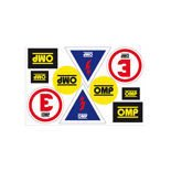 OMP Logo Sticker Sheet