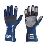 OMP MISTRAL blue Racing Gloves (with FIA homologation)