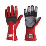 OMP MISTRAL red Racing Gloves (with FIA homologation)