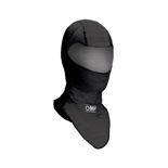 OMP ONE Black Open Balaclava size S (FIA)