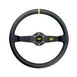 OMP RALLY Leather Steering Wheel