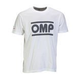 OMP Racing Spirit Men's T-Shirt white