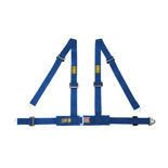 OMP Road 4 - points Safety Belts ECE, DA507 Blue