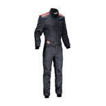 OMP SPORT Black Racing Suit (with FIA homologation)