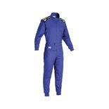 OMP SUMMER-K Kids blue Karting Suit