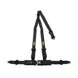 OMP Strada 3 - points Safety Belts ECE, DA509 Black